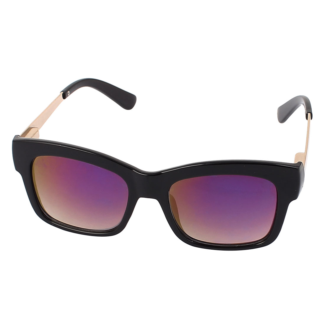 Ladies Full Rim Gray Lens Sun Protection Outdoor Sunglasses Eyewear
