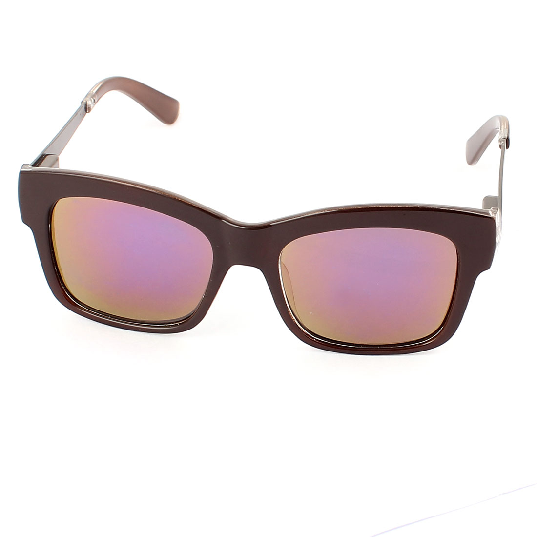 Women Ladies Gray Lens Sun Protection Outdoor Sunglasses Eyewear