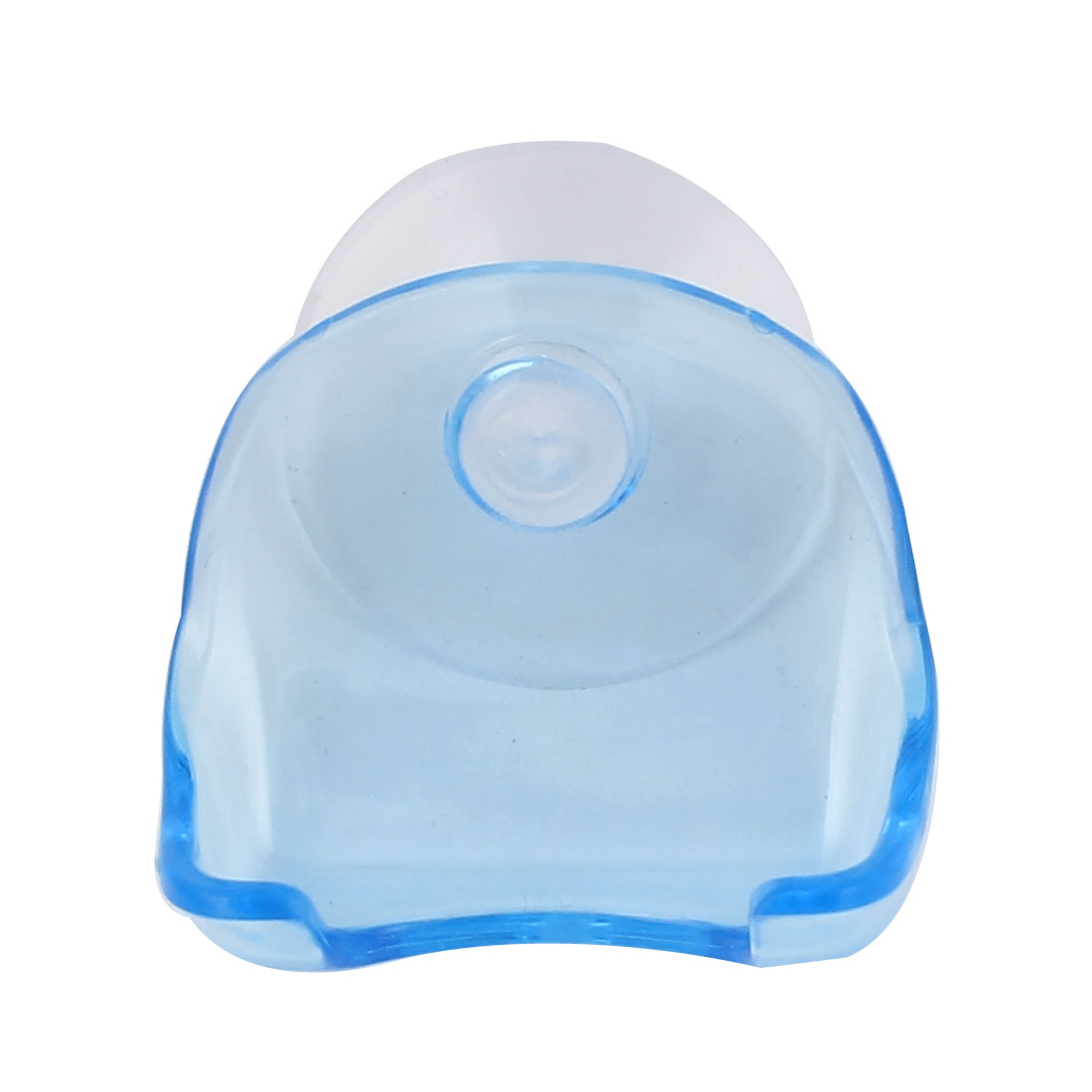 Washroom Bathroom 38mm Diameter Suction Cup Handy Shaver Razor Holder Blue