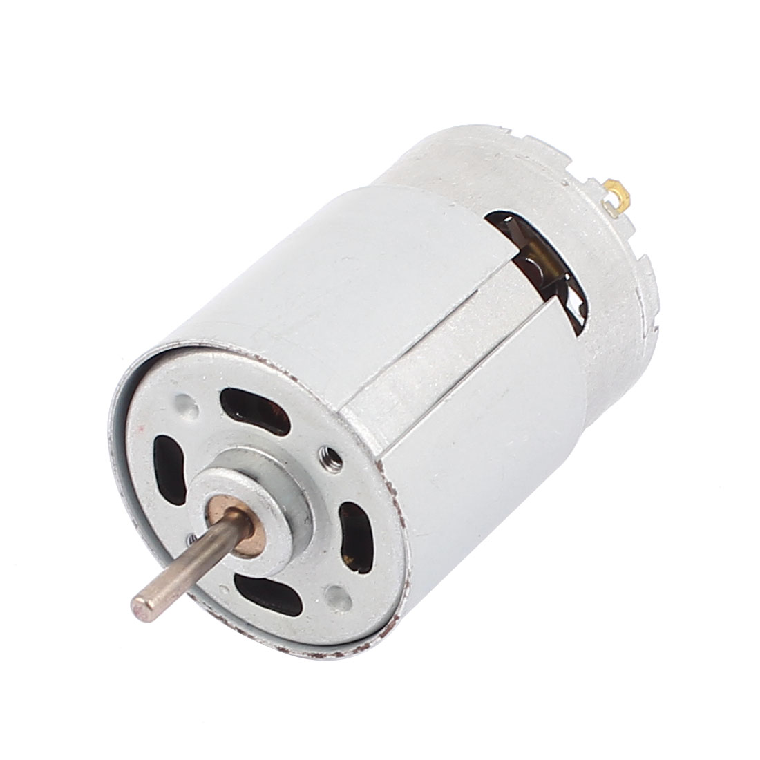 6-12V 4000-6000RPM 3mm Dia Round Shaft 38mm Cylindrical Magnetic Electric Micro DC Motor