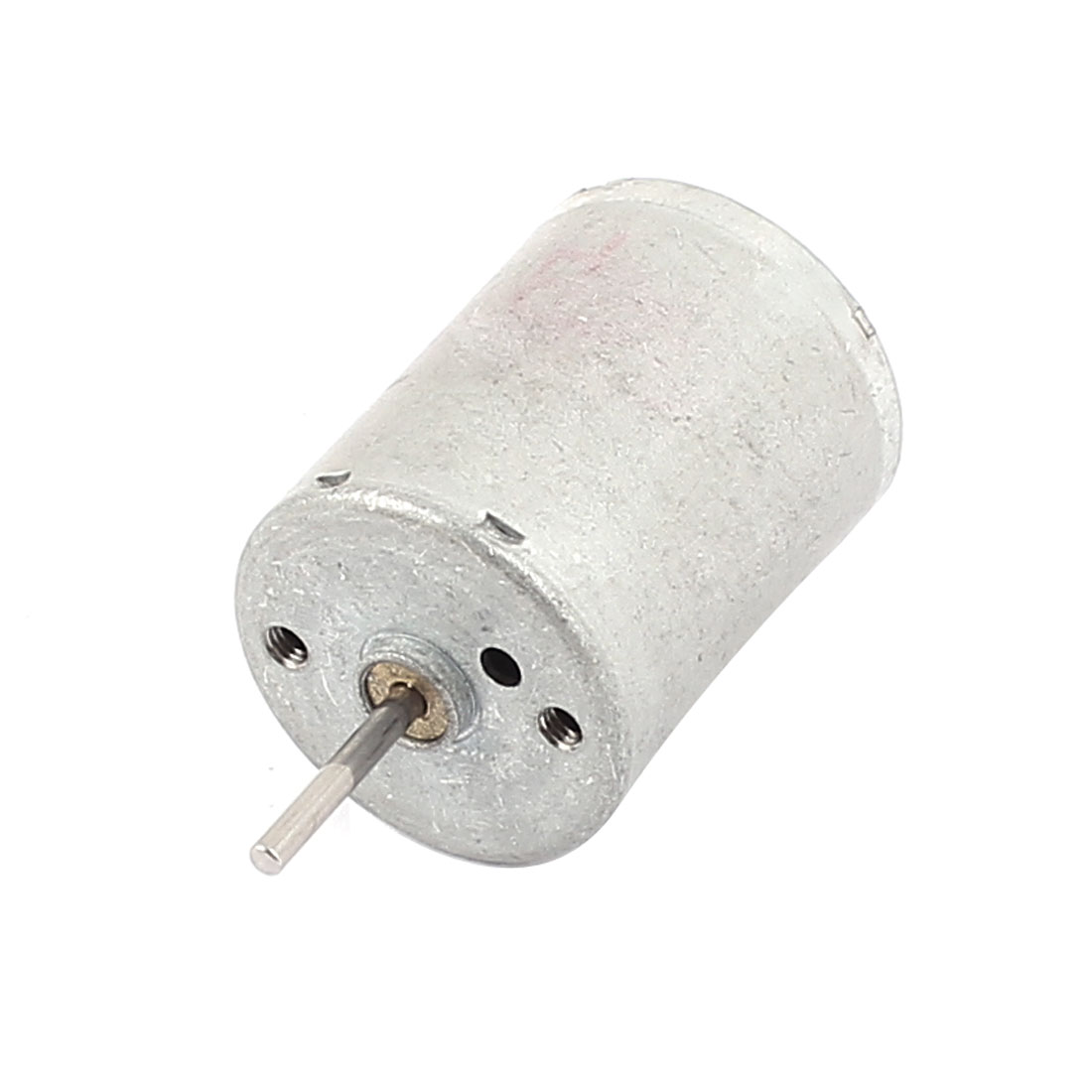 3V 3000RPM High Speed 2mm Shaft 24mm Dia Cylindrical Electric Micro DC Motor