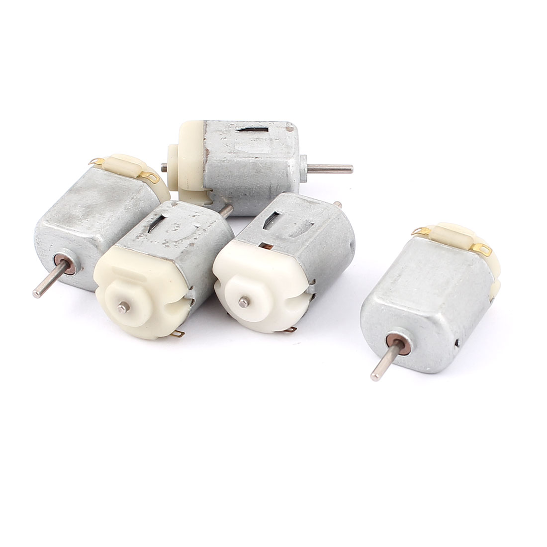 5pcs 3V 8000RPM High Speed 2mm Round Shaft Magnetic Electric Micro DC Motor for RC Model Toy