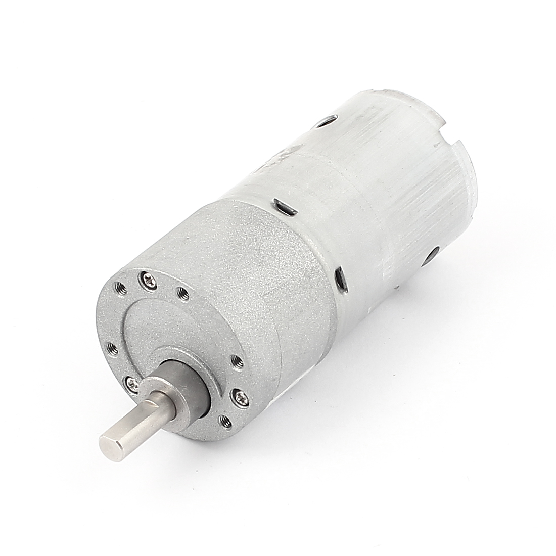 24V 80RPM Rotary Speed 6mm D Shaft 50mm Electric Micro DC Gearbox Gear Box Motor