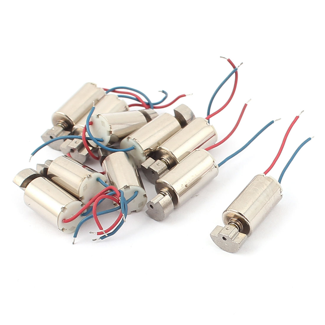 10pcs 3-6V 8000RPM High Speed Electric Micro DC Vibration Motor for RC Model Toy