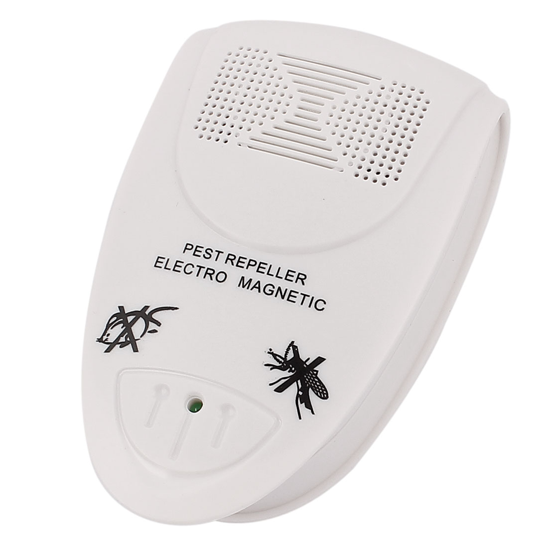 EU Plug AC 100-240V Ultrasonic Cockroach Mouse Pests Bugs Repeller White