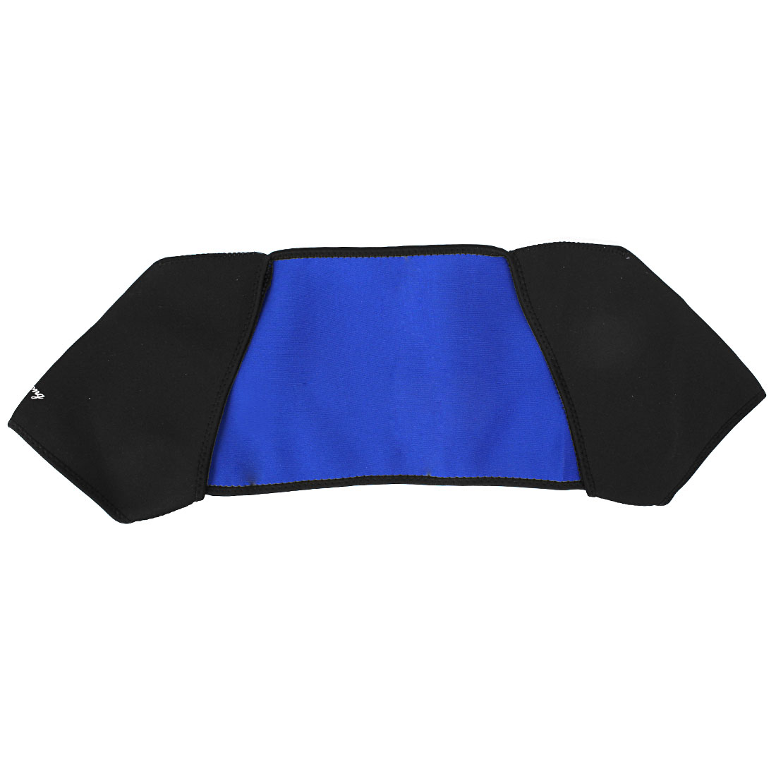 Gym Shoulder Pad Band Belt Wrap Support Brace Protector Black Blue