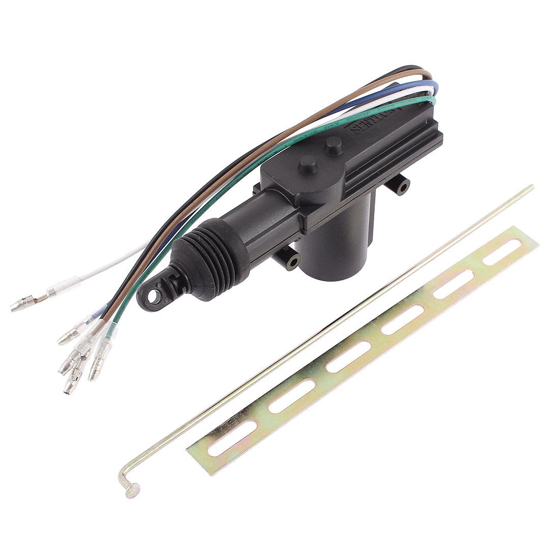 SUV 5 Wire Single Gun Type Central Door Auto Locking System Lock Actuator Motor