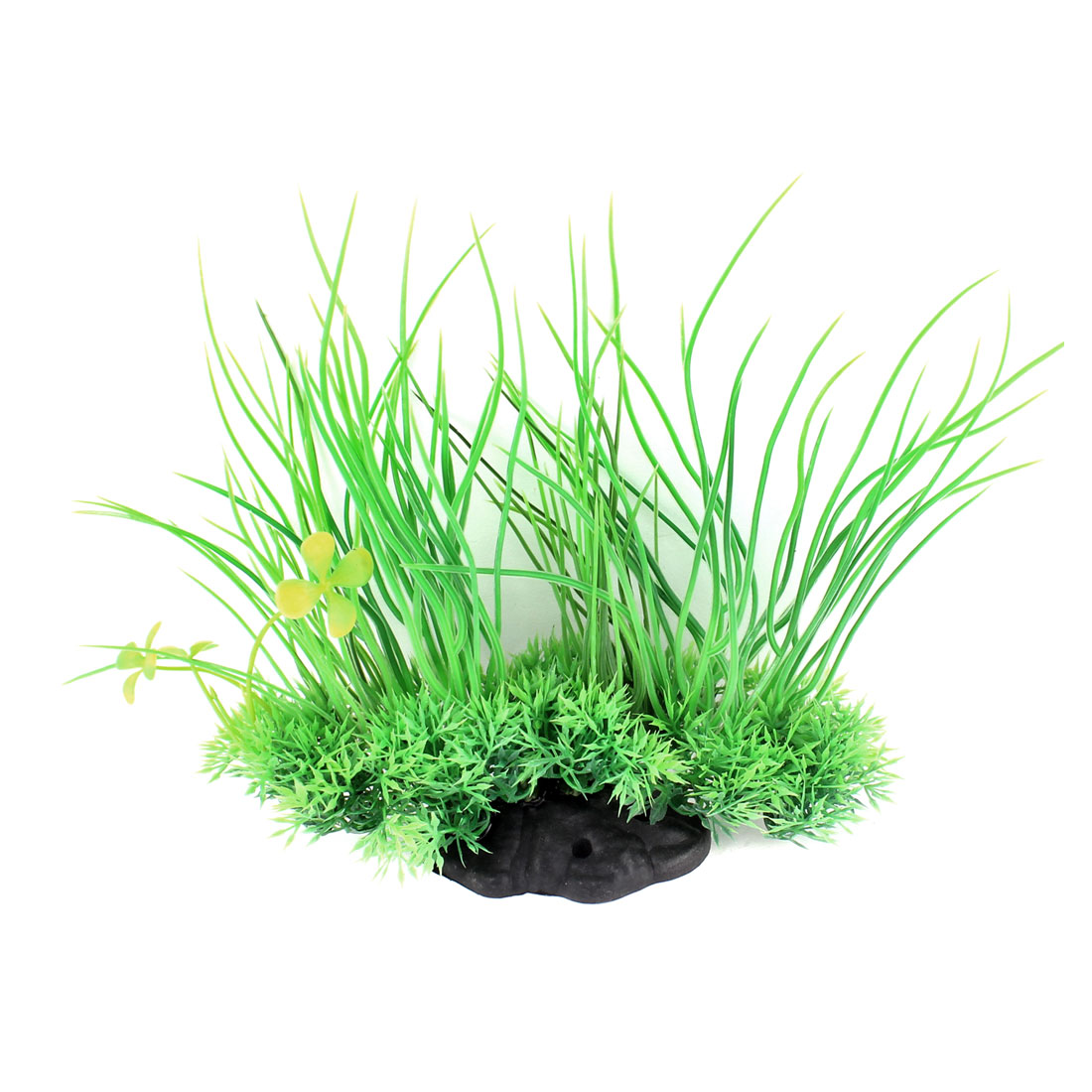 18cm Height Green Plastic Artificial Aquarium Plant Underwater Grass Ornament