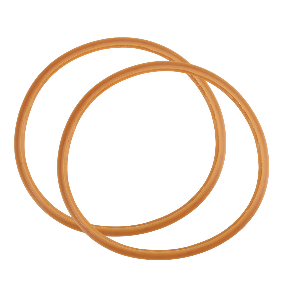 Kitchen Pressure Cooker Rubber Gasket Sealing Ring 20cm Inner Dia 2pcs