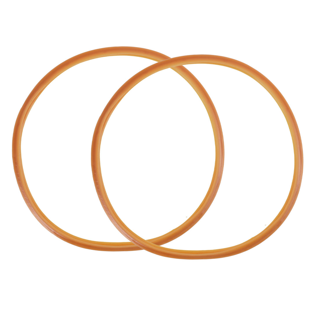 Pressure Cooker Rubber Gasket Sealing Ring 24cm Internal Dia 2pcs