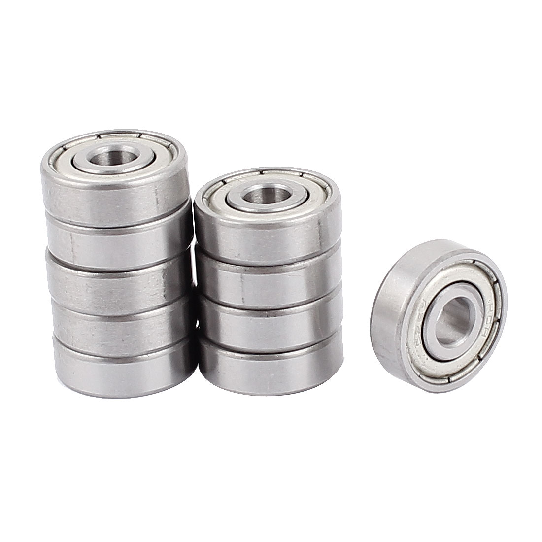 10Pcs Shielded Miniature 6262 Deep Groove Ball Wheel Bearing 19mm x 6mm x 6mm