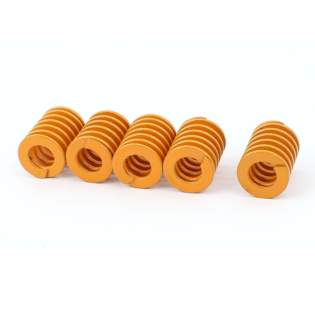 5Pcs Stamping Compression Mold Mould Die Spring Coil Yellow 25mm x 20mm