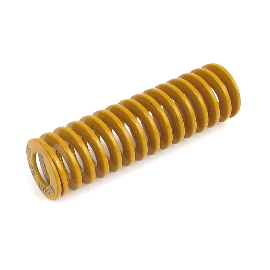 22mmx75mm Chromium Alloy Steel Lightest Load Die Spring Yellow