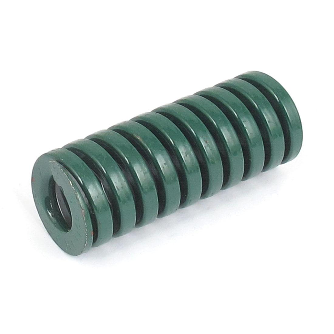 22mmx55mm Chromium Alloy Steel Heavy Load Die Spring Green