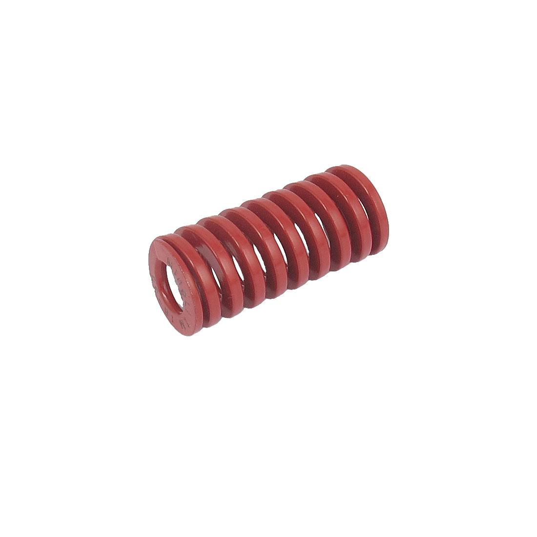 16mmx35mm Chromium Alloy Steel Medium Load Die Spring Red