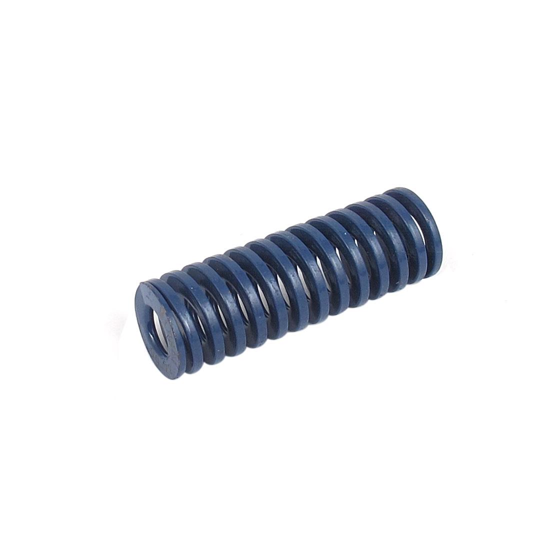 22mmx65mm Chromium Alloy Steel Light Load Die Spring Blue