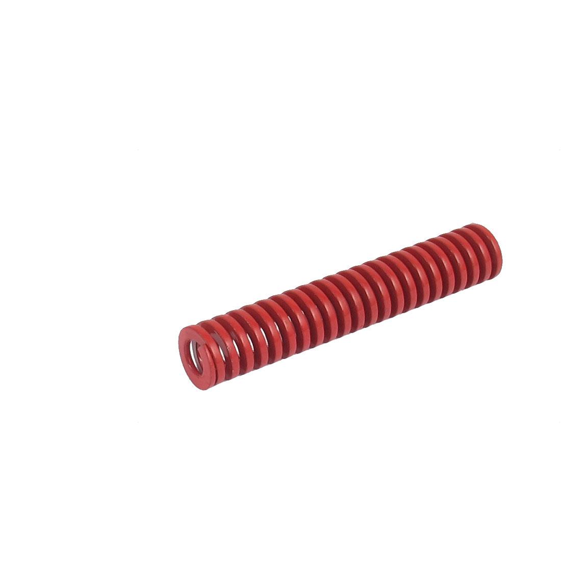 12mmx65mm Chromium Alloy Steel Medium Load Die Spring Red