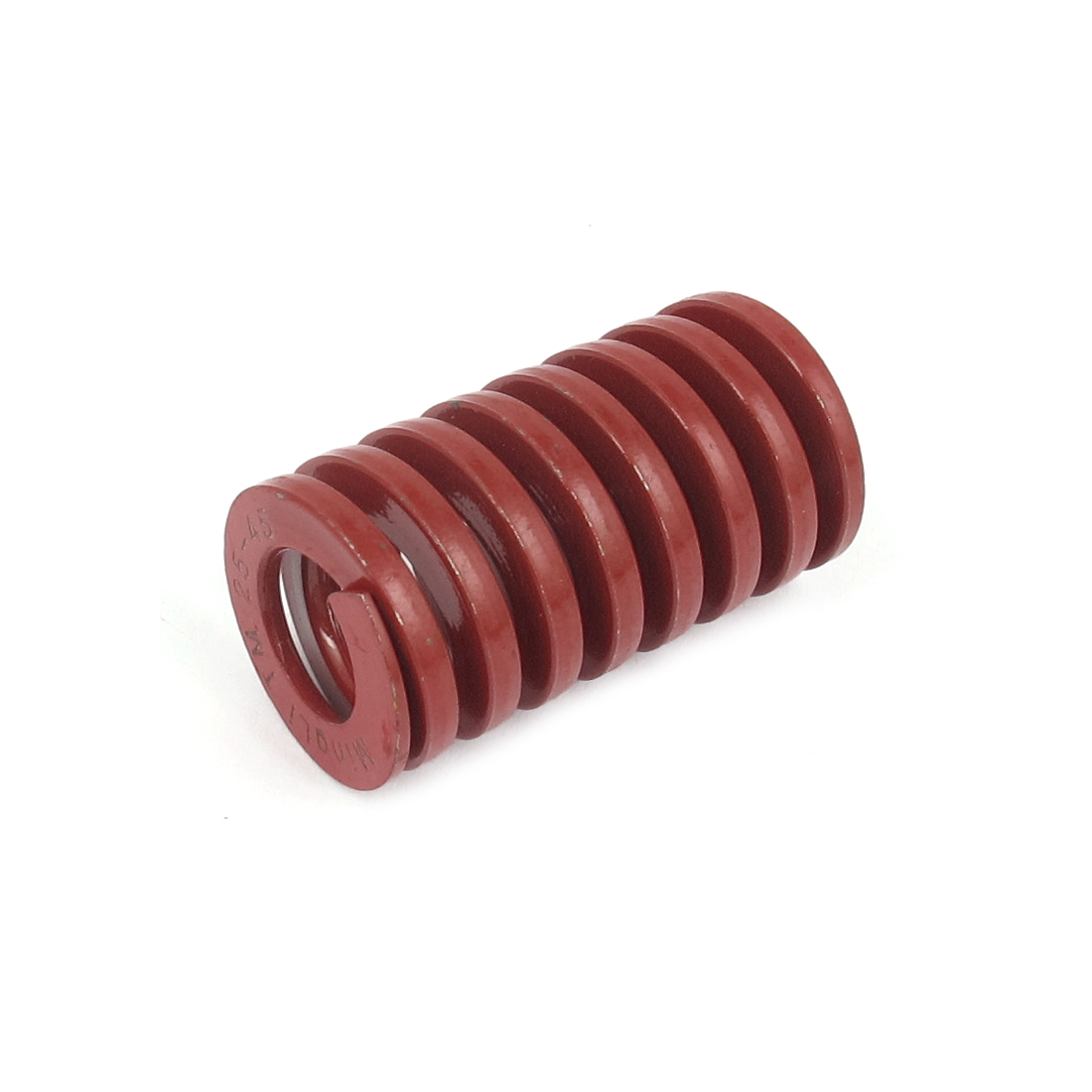 25mmx45mm Chromium Alloy Steel Medium Load Die Spring Red
