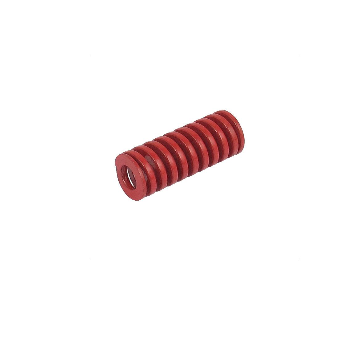 12mmx30mm Chromium Alloy Steel Medium Load Die Spring Red
