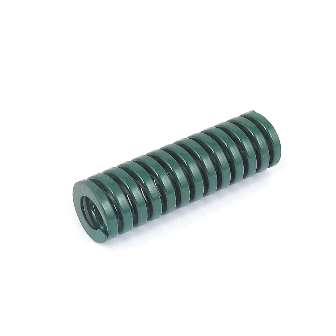 20mmx65mm Chromium Alloy Steel Heavy Load Die Spring Green
