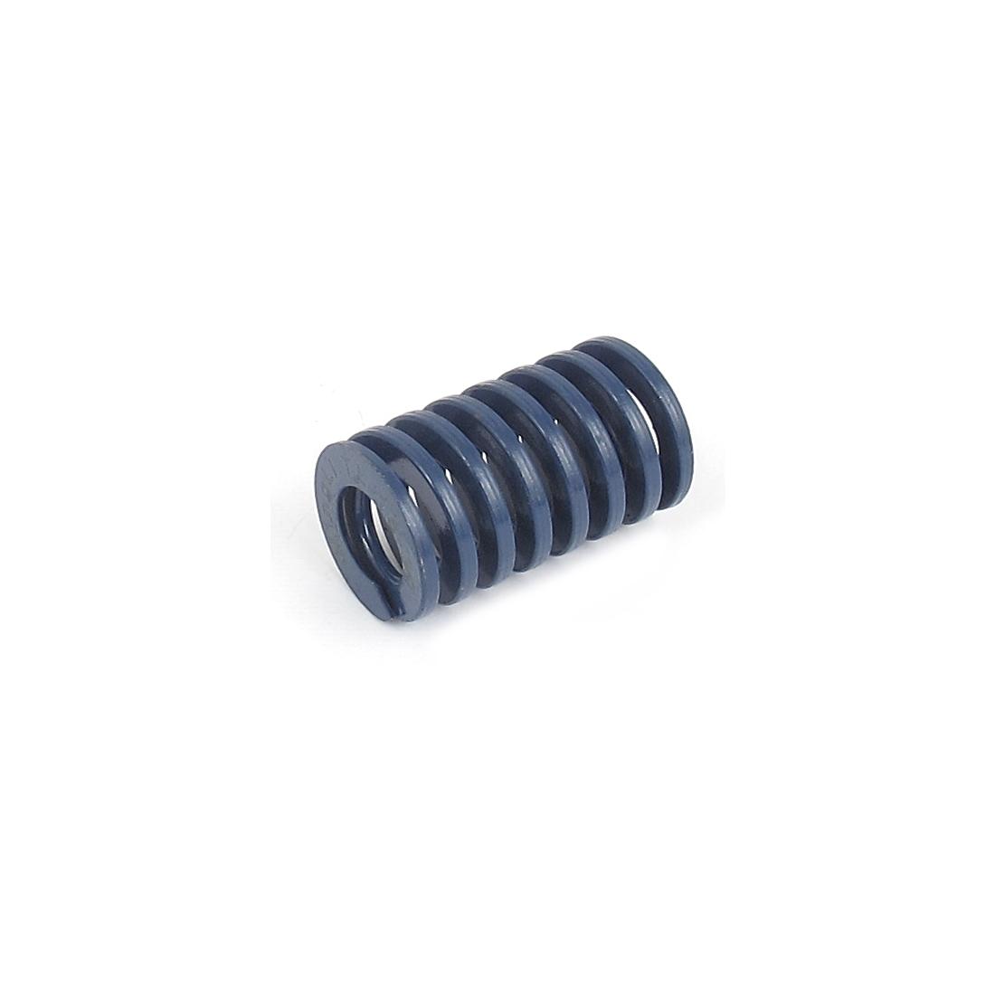 18mmx30mm Chromium Alloy Steel Light Load Die Spring Blue
