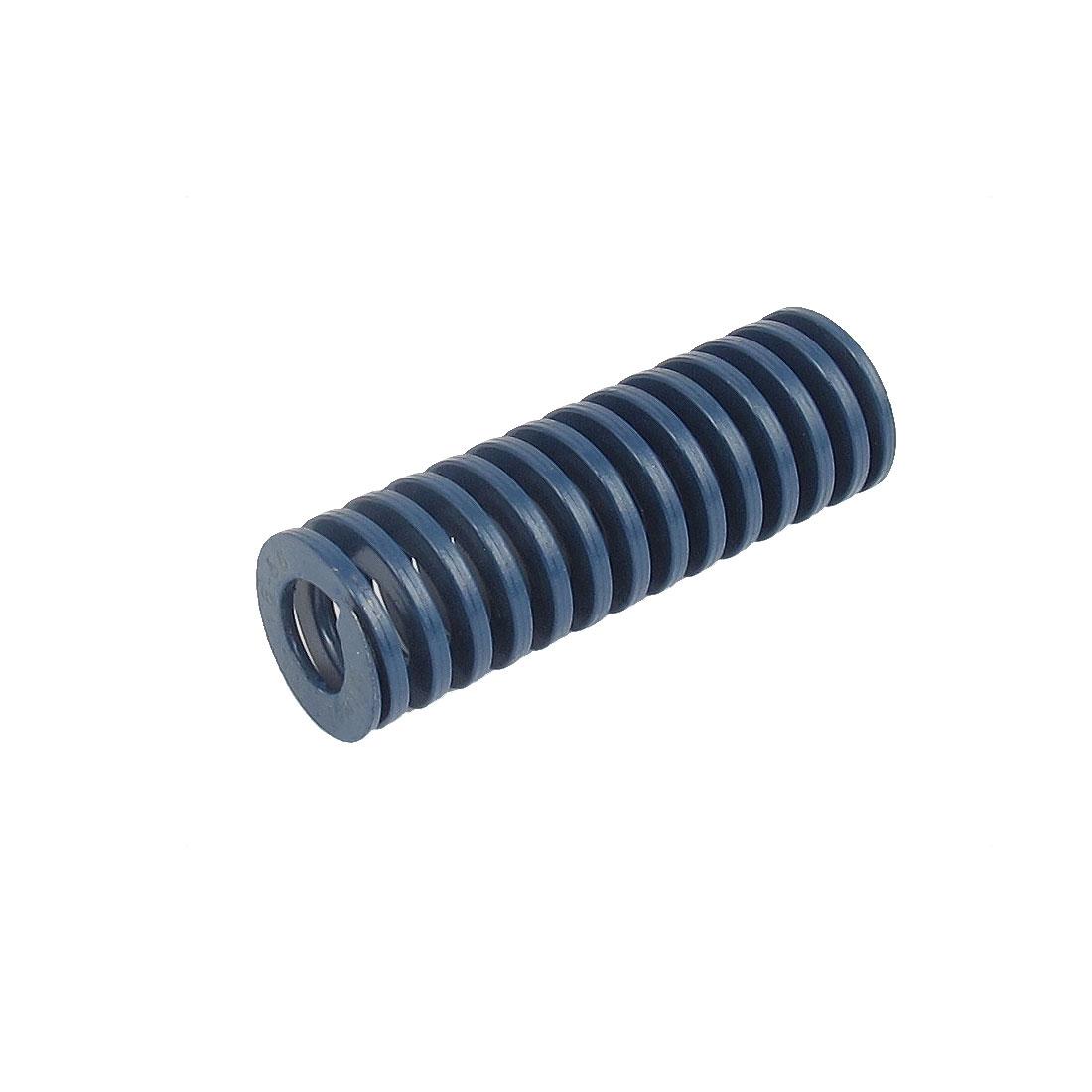18mmx55mm Chromium Alloy Steel Light Load Die Spring Blue