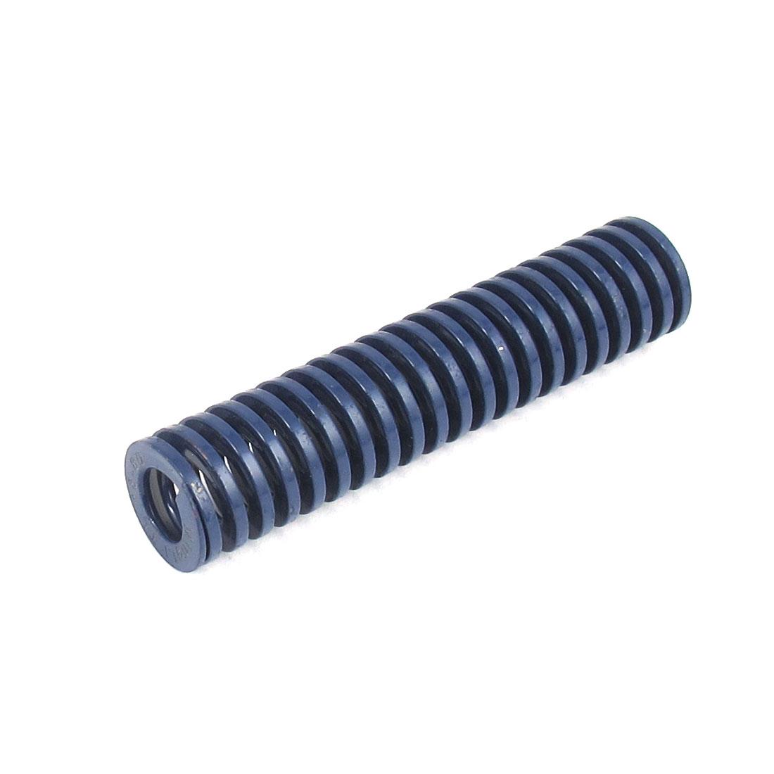 18mmx80mm Chromium Alloy Steel Light Load Die Spring Blue