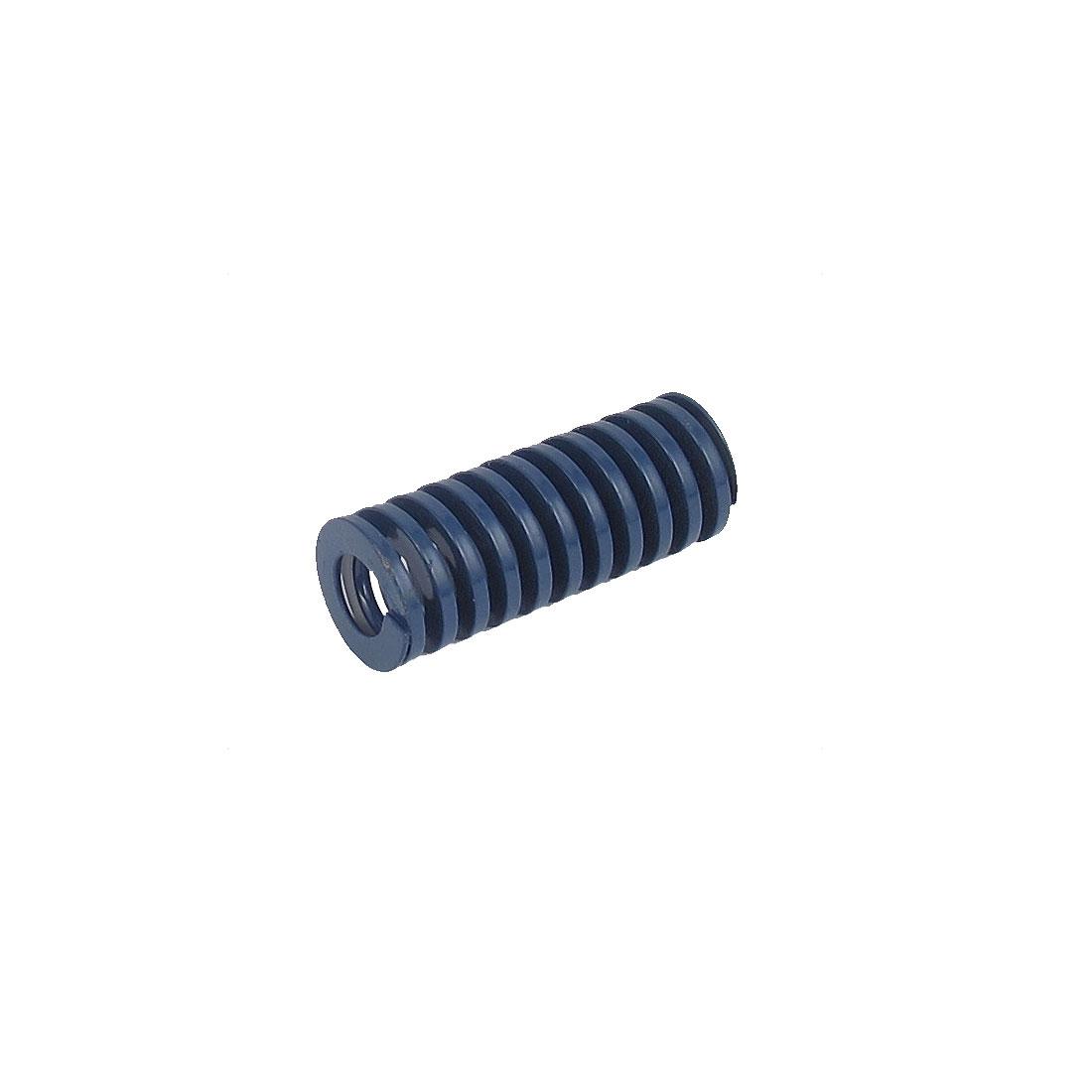 14mmx35mm Chromium Alloy Steel Light Load Die Spring Blue