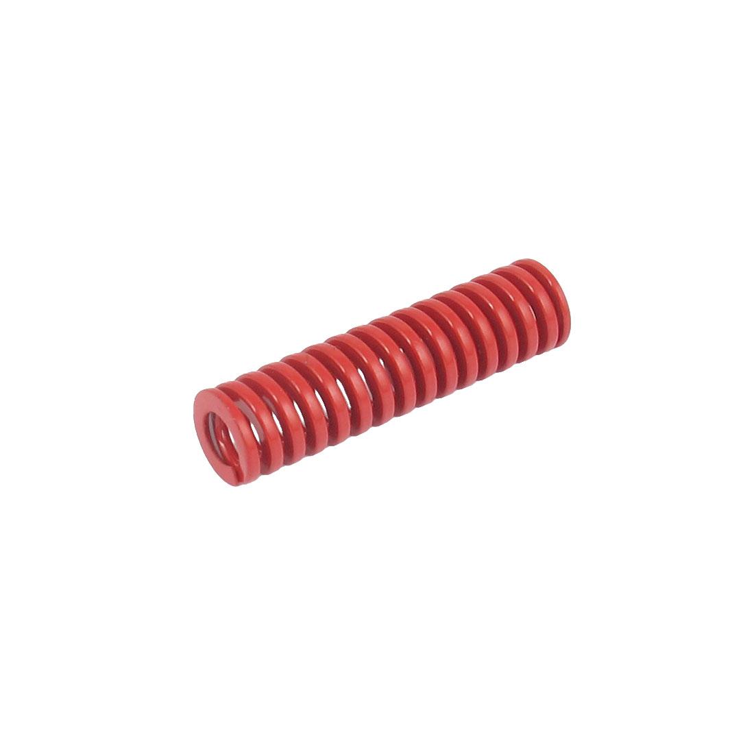 12mmx45mm Chromium Alloy Steel Medium Load Die Spring Red