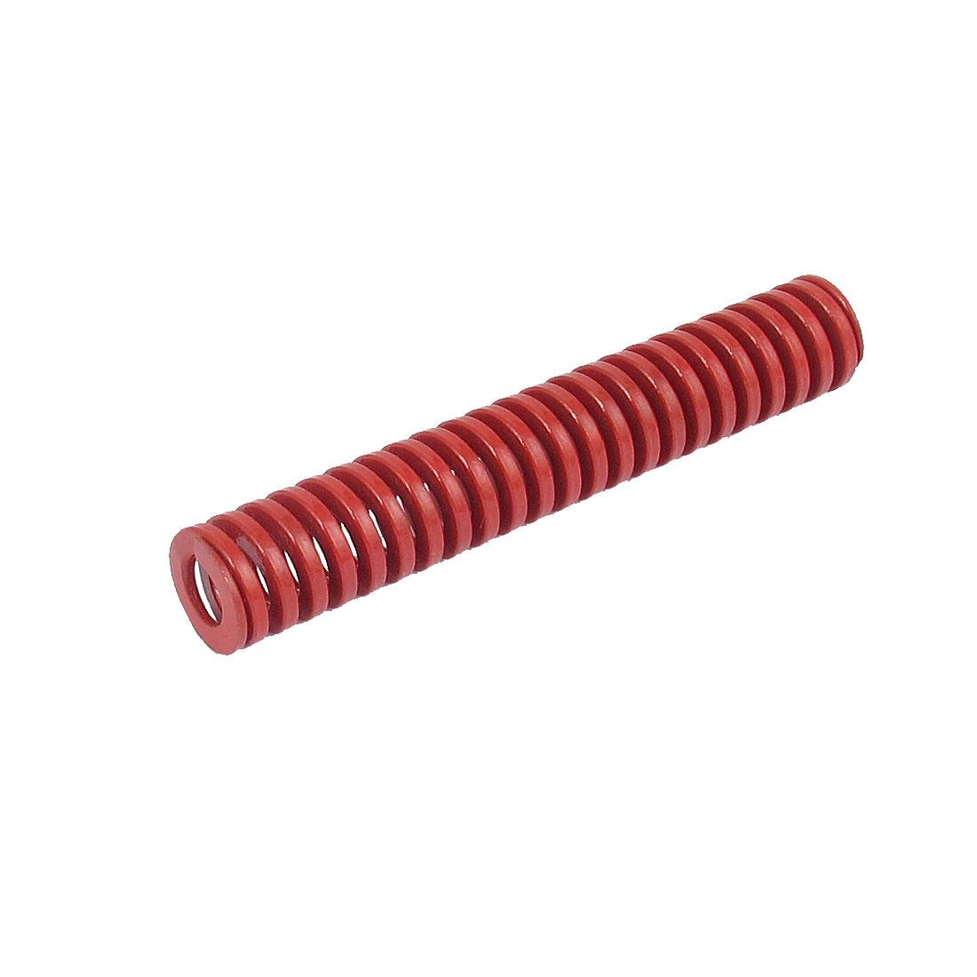 12mmx70mm Chromium Alloy Steel Medium Load Die Spring Red