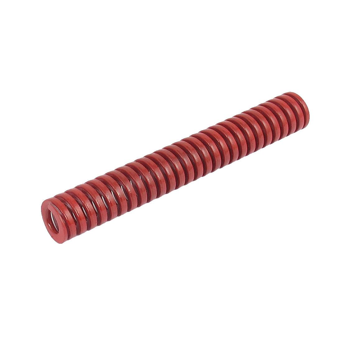 12mmx80mm Chromium Alloy Steel Medium Load Die Spring Red