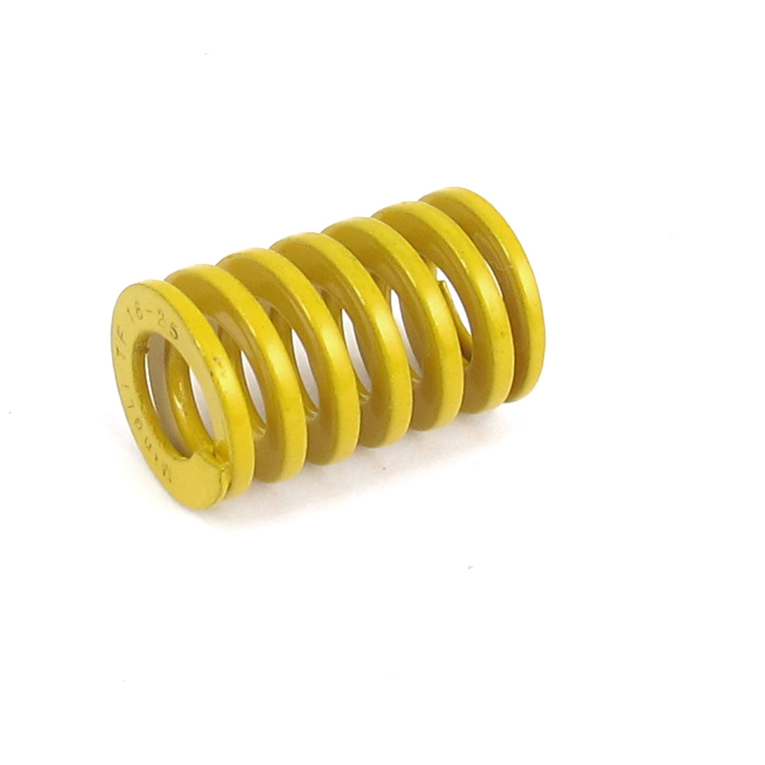 16mmx25mm Chromium Alloy Steel Lightest Load Die Spring Yellow