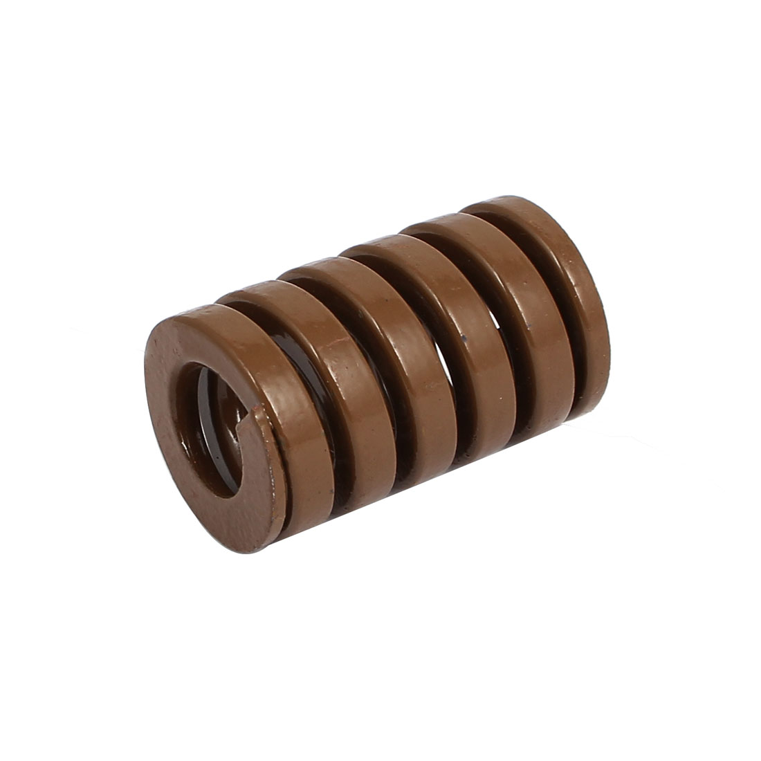 25mm OD 40mm Long Extra Heavy Load Spiral Stamping Compression Die Spring Brown