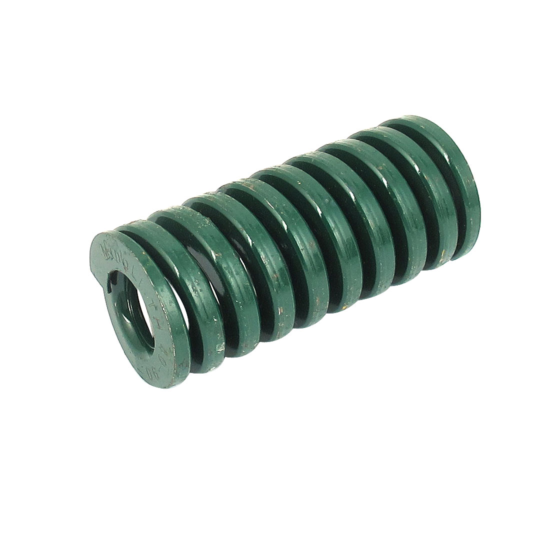 40mm OD 90mm Long Heavy Load Spiral Stamping Compression Die Spring Green
