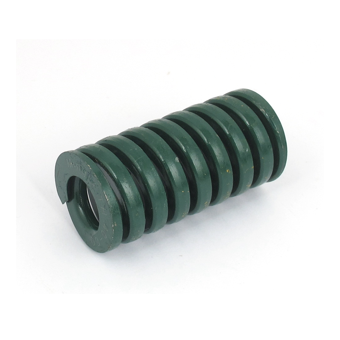 40mm OD 80mm Long Heavy Load Spiral Stamping Compression Die Spring Green