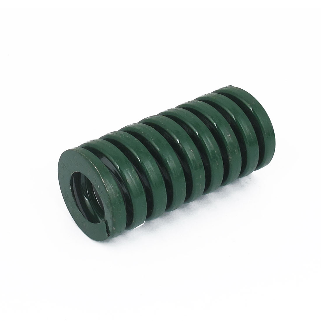 35mm OD 75mm Long Heavy Load Spiral Stamping Compression Die Spring Green