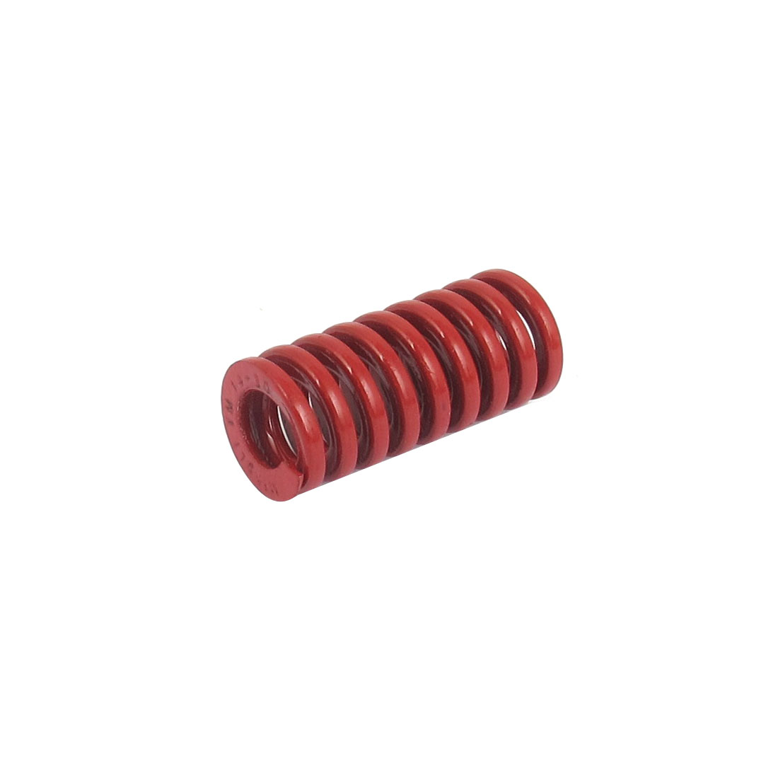 14mm OD 30mm Long Medium Load Spiral Stamping Compression Die Spring Red