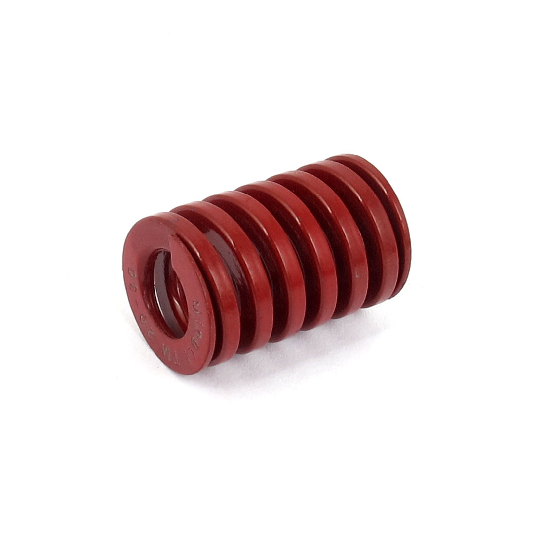 20mm OD 30mm Long Medium Load Spiral Stamping Compression Die Spring Red