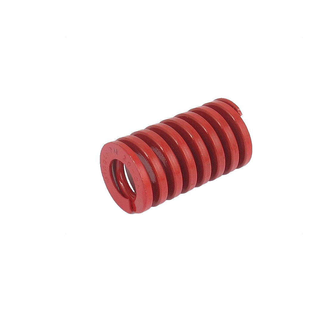 20mmx35mm Chromium Alloy Steel Medium Load Die Spring Red