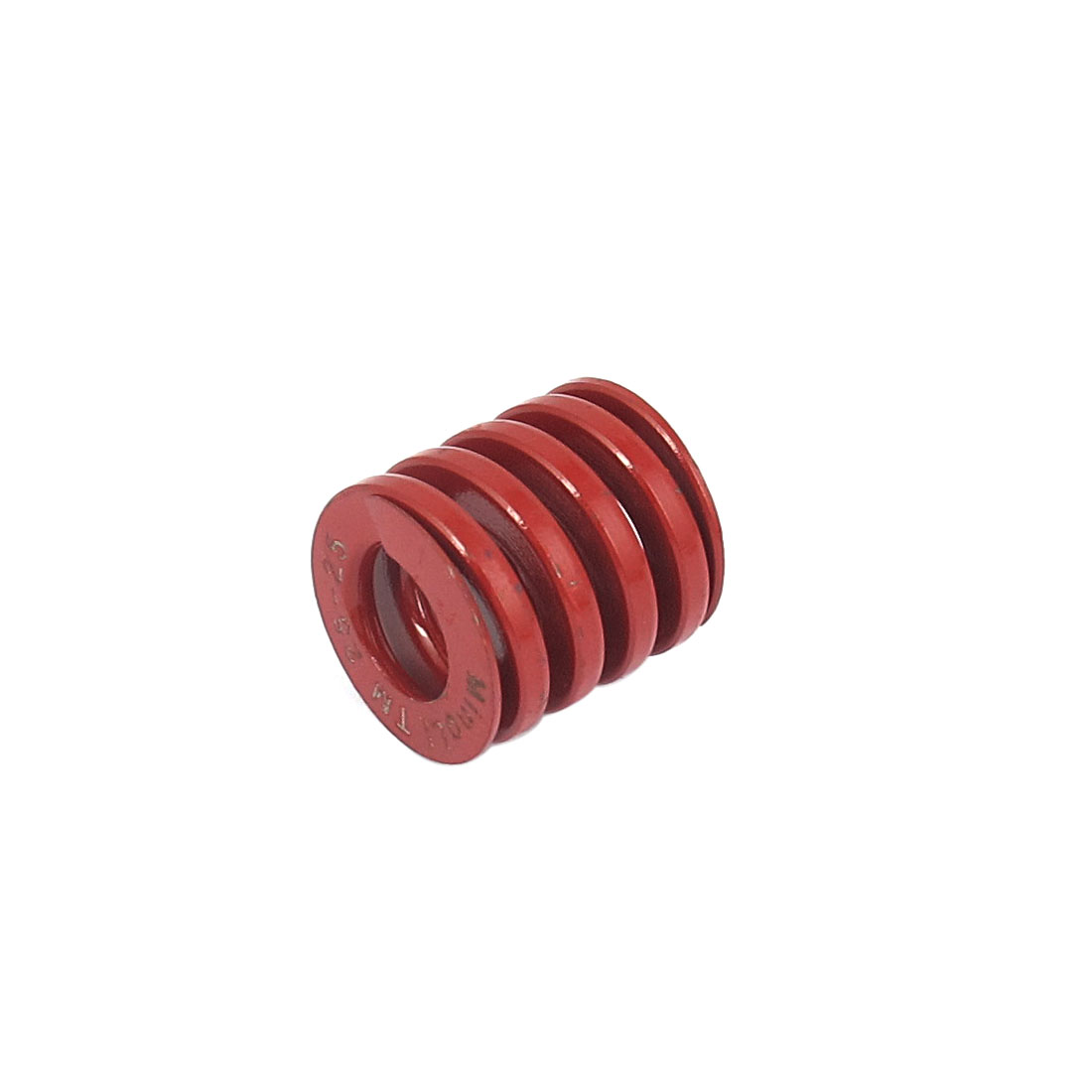 25mmx25mm Chromium Alloy Steel Medium Load Die Spring Red