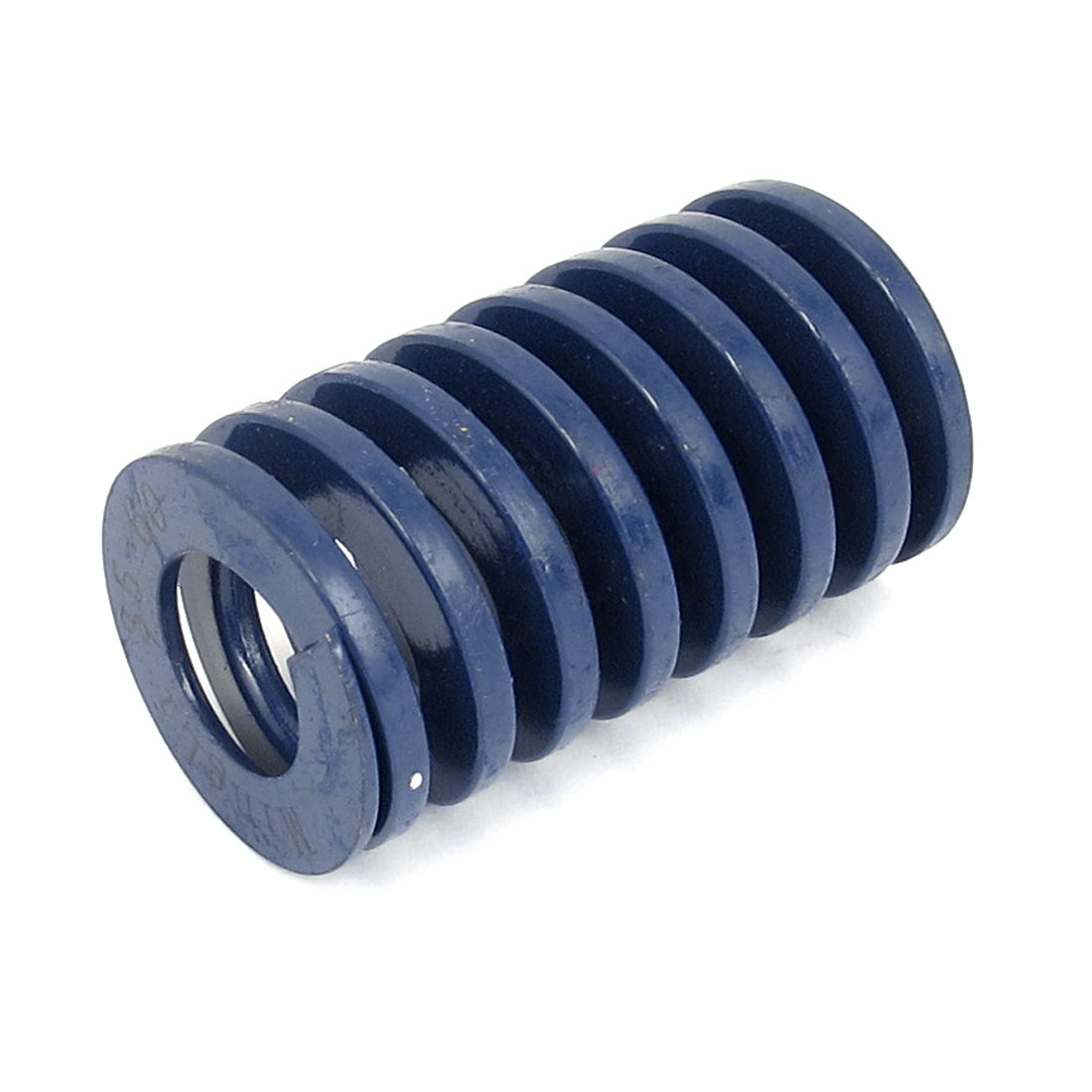 35mm OD 60mm Long Light Load Spiral Stamping Compression Die Spring Blue