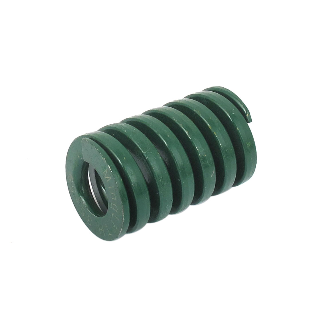 35mm OD 55mm Long Heavy Load Spiral Stamping Compression Die Spring Green