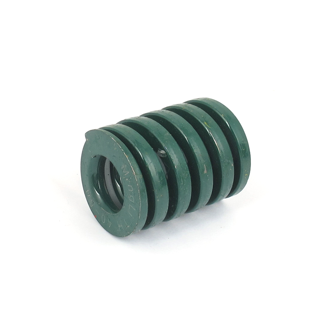 40mm OD 50mm Long Heavy Load Spiral Stamping Compression Die Spring Green