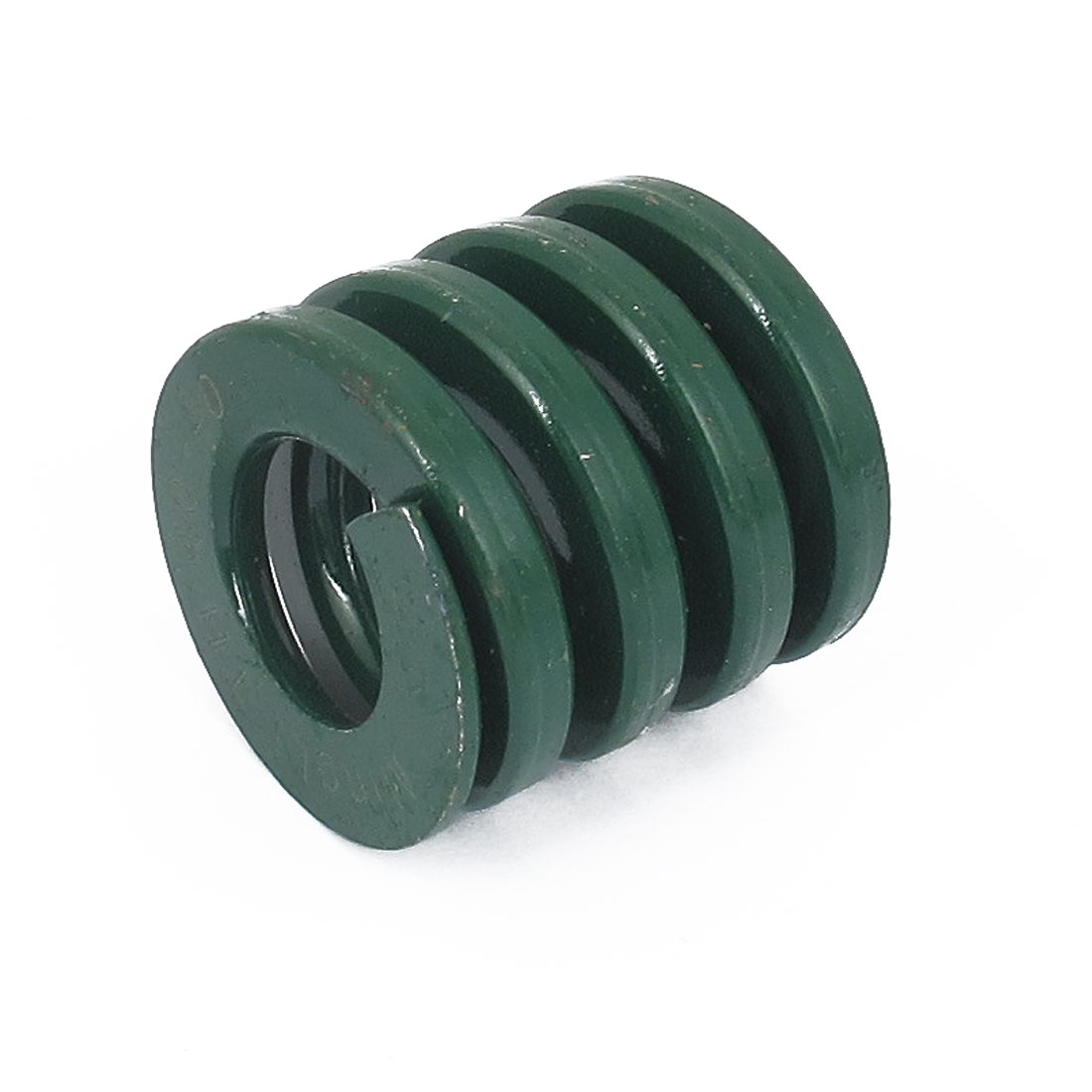 40mm OD 40mm Long Heavy Load Spiral Stamping Compression Die Spring Green