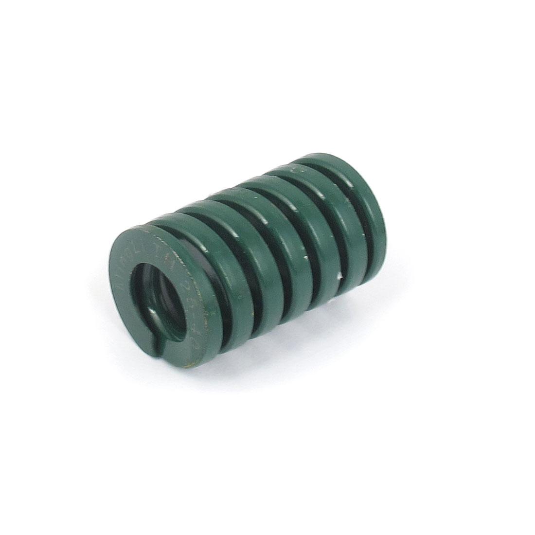 25mmx40mm Chromium Alloy Steel Heavy Load Die Spring Green