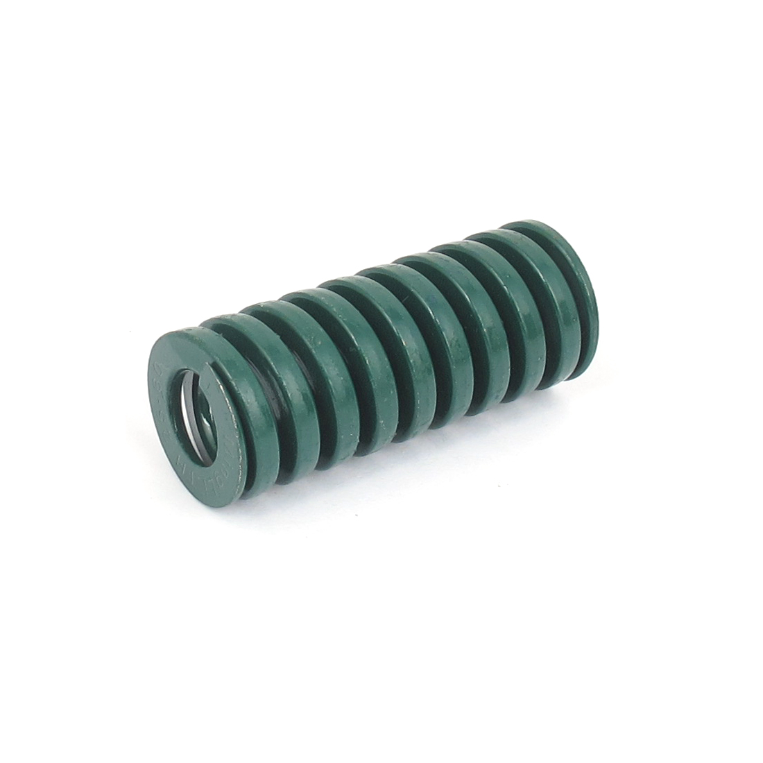 25mm OD 60mm Long Heavy Load Spiral Stamping Compression Die Spring Green