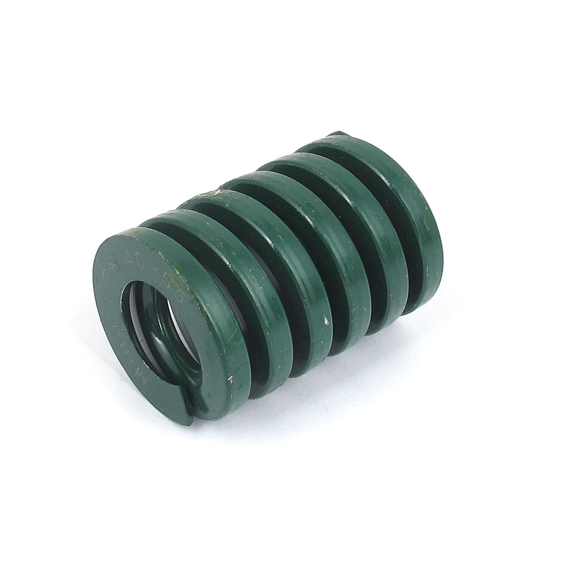 40mm OD 55mm Long Heavy Load Spiral Stamping Compression Die Spring Green