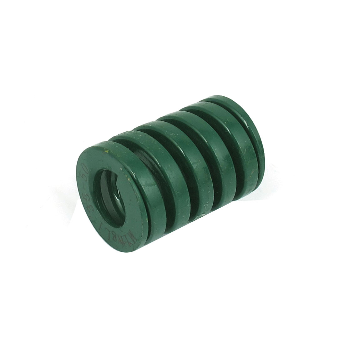 35mm OD 50mm Long Heavy Load Spiral Stamping Compression Die Spring Green