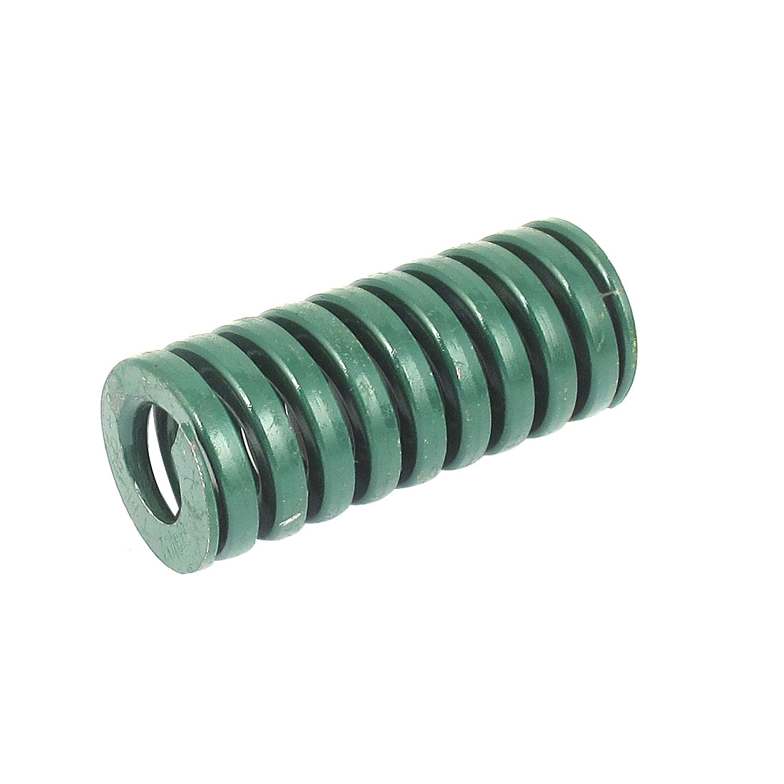 35mm OD 80mm Long Heavy Load Spiral Stamping Compression Die Spring Green