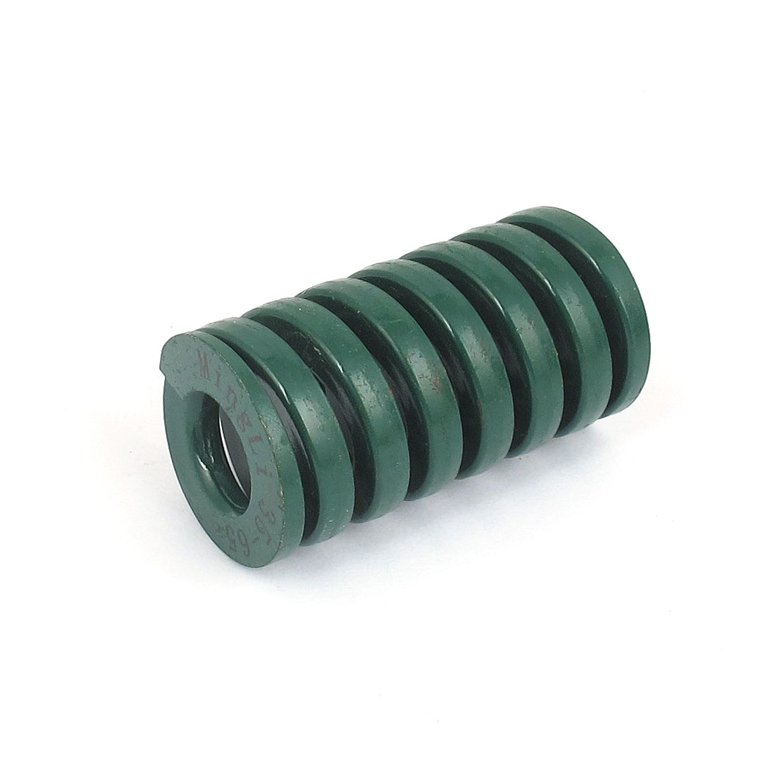 35mm OD 65mm Long Heavy Load Spiral Stamping Compression Die Spring Green